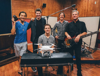 In the Studio, Michael Cavanaugh & Jamie Hosmer