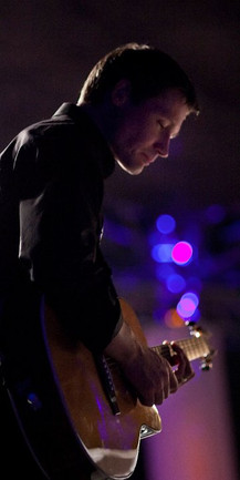 Jamie Homser on guitar