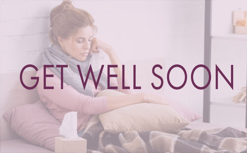 Send a GET WELL SOON message via E-Singing Telegram