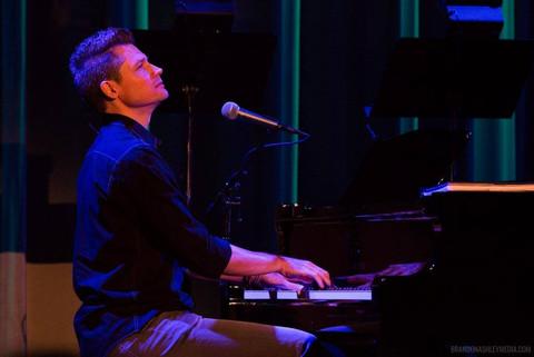 Jamie Hosmer on piano and The Smith Center