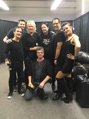 Backstage with ASIA featuring John Payne, and Jamie Hosmer