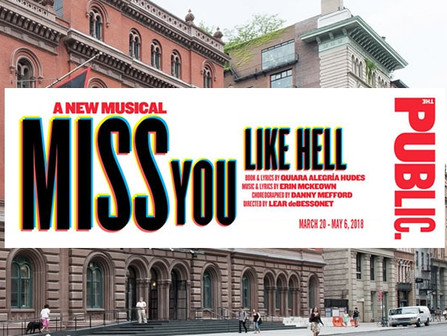 'MISS YOU LIKE HELL' NYC PREMIERE
