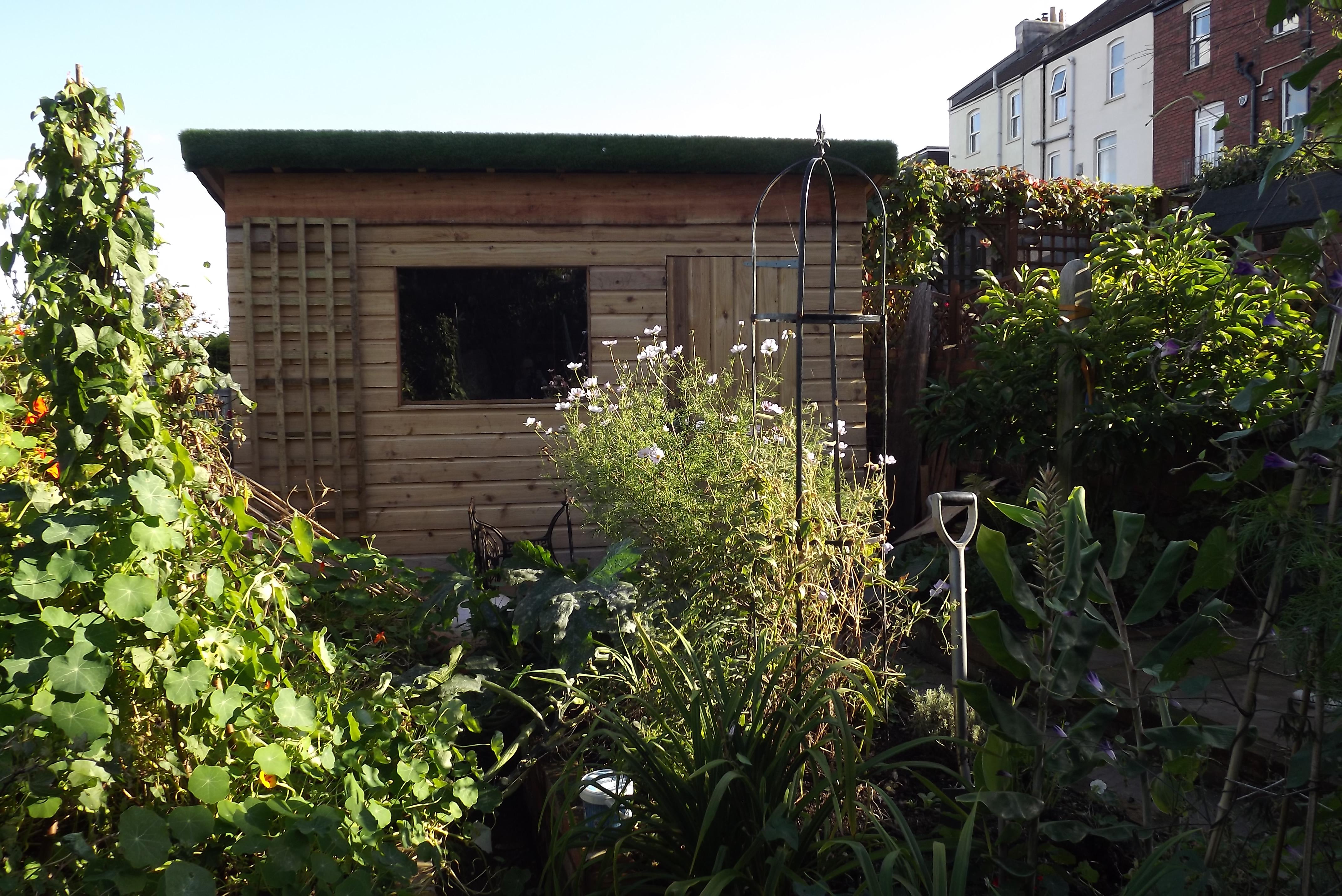 My bespoke arti grass shed