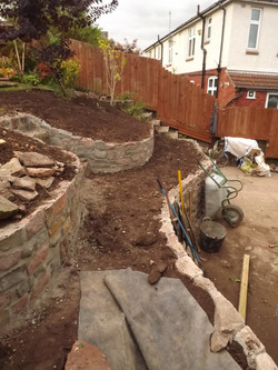 Garden Terraces under Construction