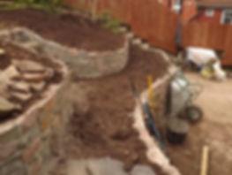 garden design and landscape contractor work