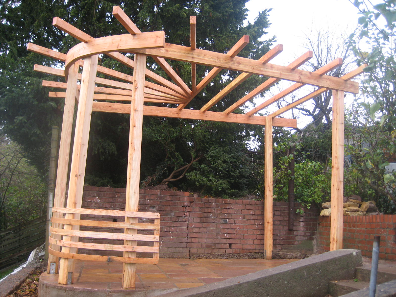 Timber Garden Furniture Construction
