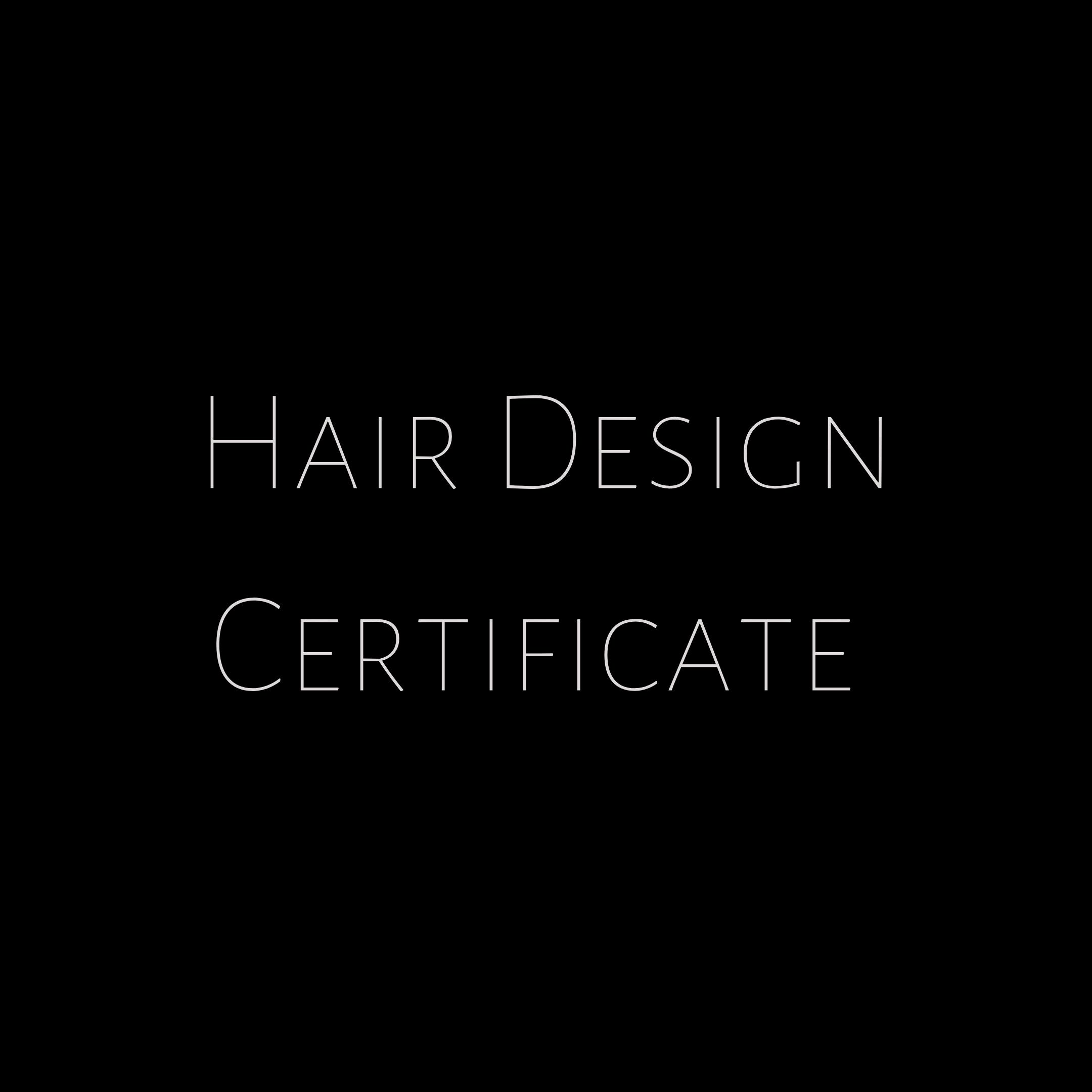 hair design poster