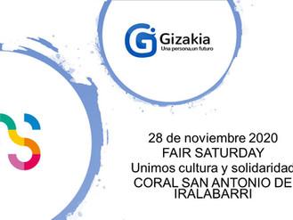 Fair Saturday a favor de Gizakia
