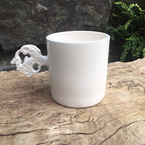 Espresso Cup with antique key addition