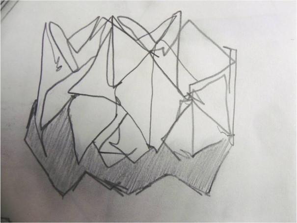 Maquette sketch