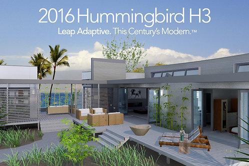Hummingbird H3 or Snowbird Trio PDF Plan Set