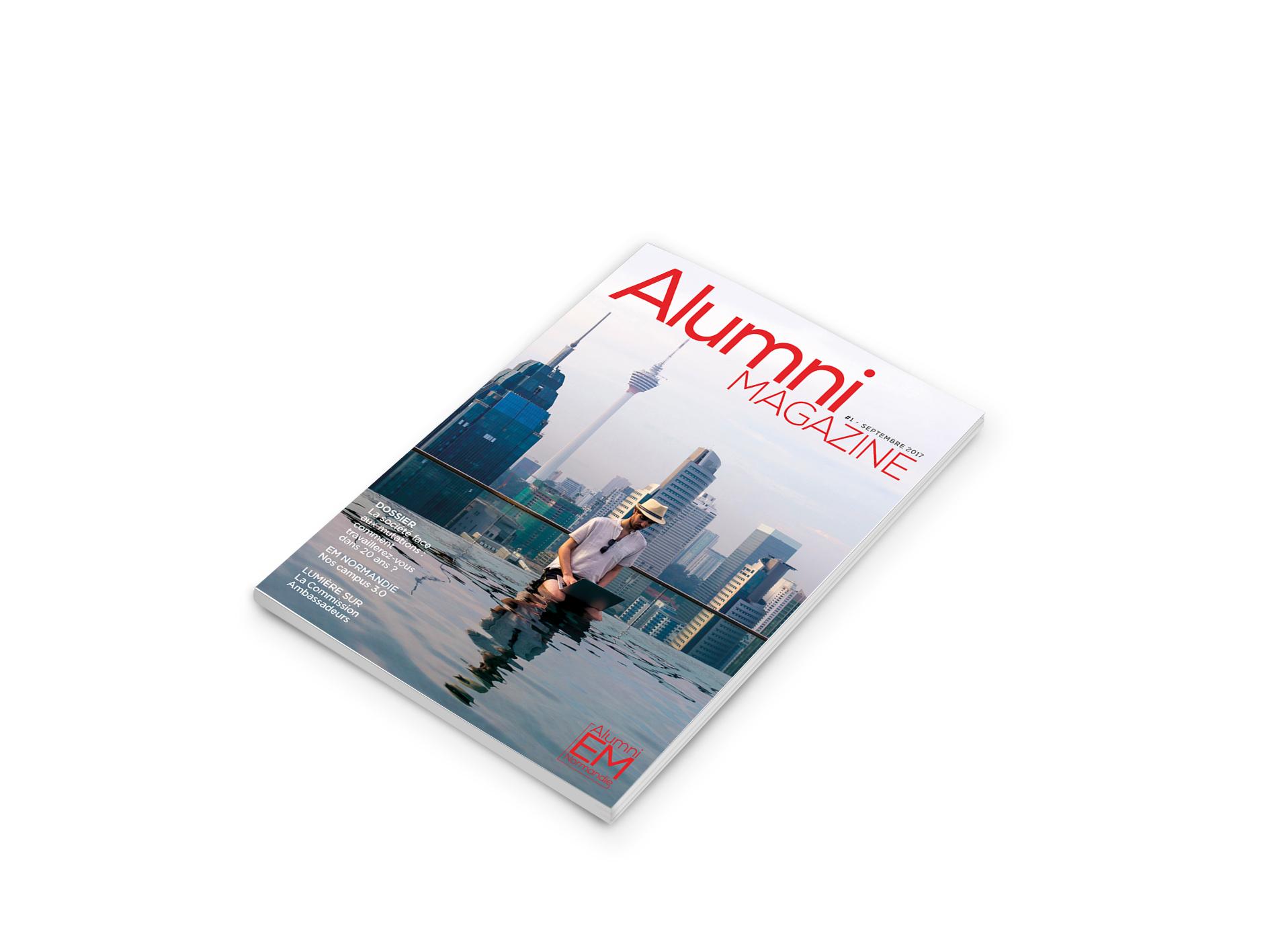 Alumni Magazine EM Normandie