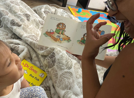 Top Three Steps on Your Road Map to Reading to Young Deaf Children