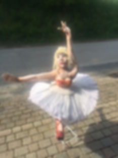 Isadora, danseuse de ballet