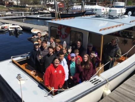 Searching for Micro-Plastics in Camden Harbor