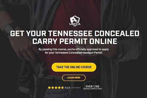 TENNESSEE CONCEALED CARRY PERMIT ONLINE