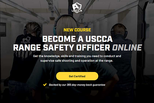 BECOME A USCCA RANGE SAFETY OFFICER ONLINE