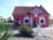 Ferienhaus Rosarot - Ganzjähriges schönes Landhaus im Vogelschutzgebiet zwischen Stettiner Haff und Ückermünder Heide. Für 8 bis 10 Personen und max. bis 5 Hunde (Grace und Jan Lukasiak).