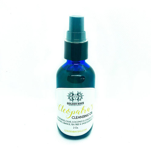Cleopatra's Cleansing Oil - 2oz.