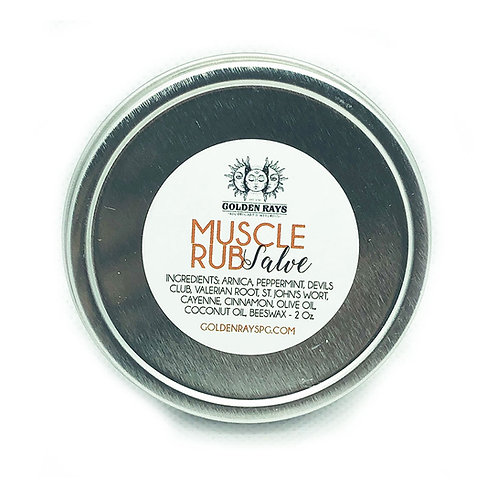 Muscle Rub Salve - 2oz.