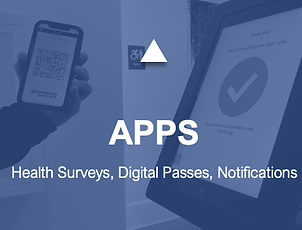 Vizsafe Health Surveys and Digital Health Pass