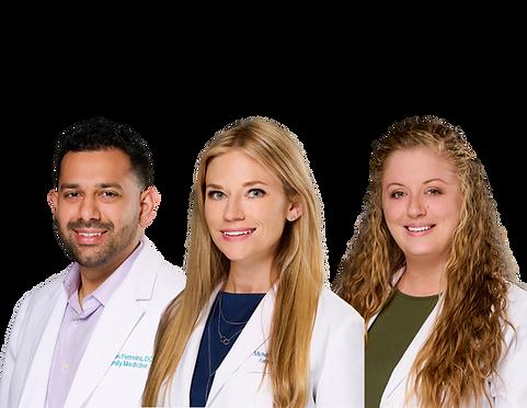 Steven Ferreira, Michelle DiBetta, Kayla Weiner, Immediate MedCare and Family Doctors, Family Doctors Bradenton