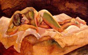Nude in Recline