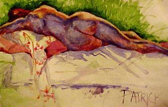 Nude in Purple
