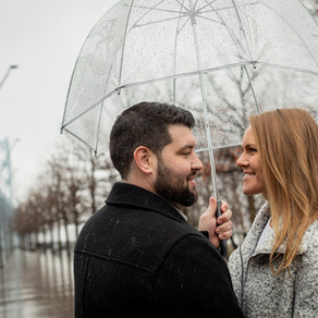 Philadelphia Engagement / Colette & Daniel / By Jared