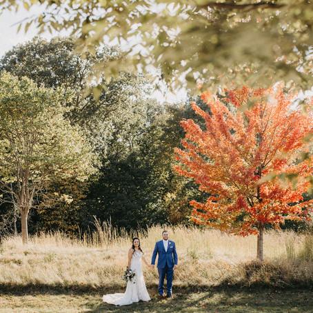 Fall Wedding @ Rivercrest