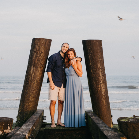 Margate Beach Engagement