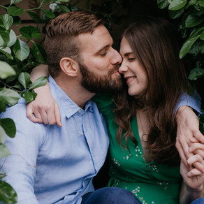 Queens Village Engagement / Sarah & Ryan / By Allie