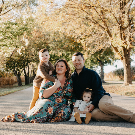 Golden Hour Family Session