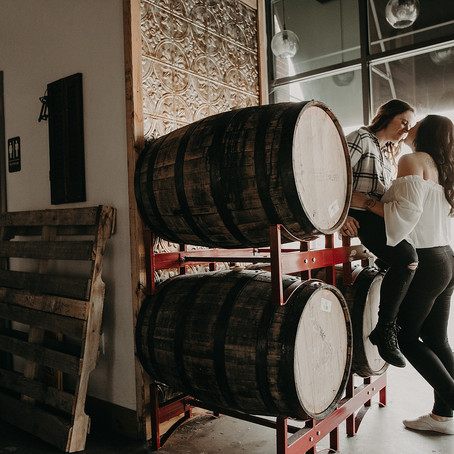 Collingswood NJ Engagement | Devils Creek Brewery