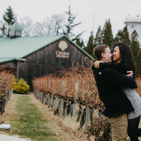 Cape May Winery Surprise Proposal