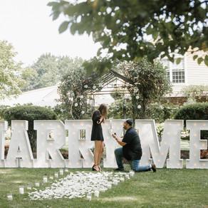 Surprise Proposal @ Crossings Vineyard / Olivia & Owen / By Joe