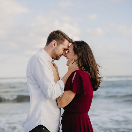 OC Beach Engagement