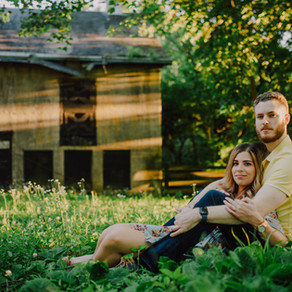 Brandywine Creek State Park Engagement / Mike & Kim / By Alex