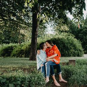 Muhlenberg College Engagement / Erin & Alex / By Allie