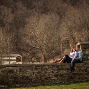 Valley Forge Engagement / Amanda & John / By Iryna