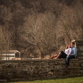 Valley Forge Engagement / Amanda & John / By Iryna