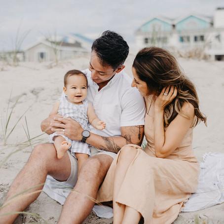 Sea Isle City Family Beach Session