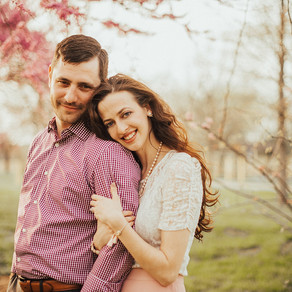 Norristown Farm Park Engagement / Nicole & James / By Jami