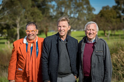 Dick, Laurie and John Thwaites photo.jpg
