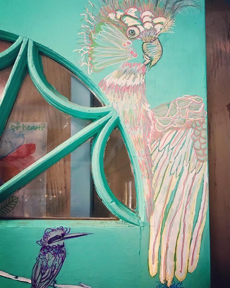 Upper R. Corner of Magic Door Portal