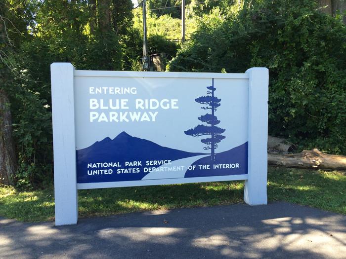 Blue Ridge Parkway-Asheville Bound