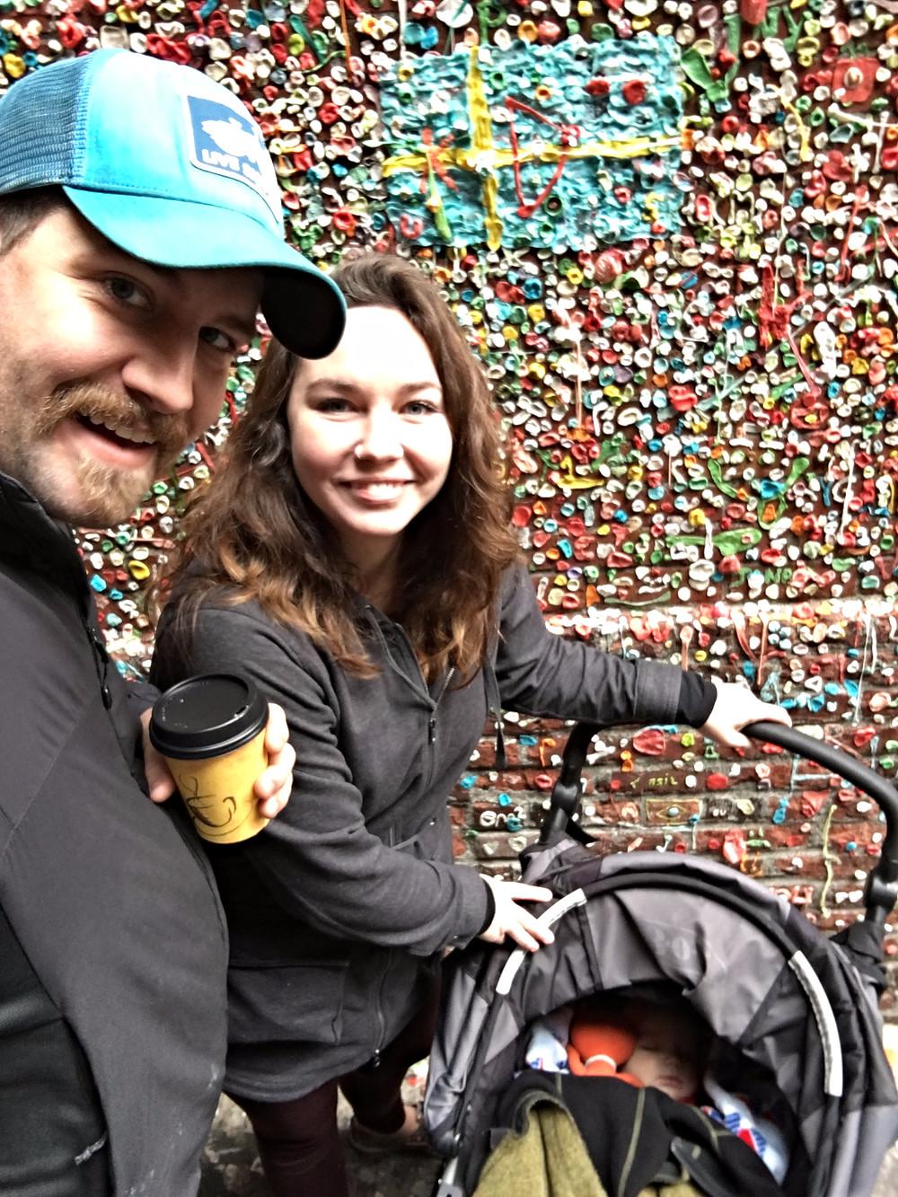 Gum Wall Seattle, WA