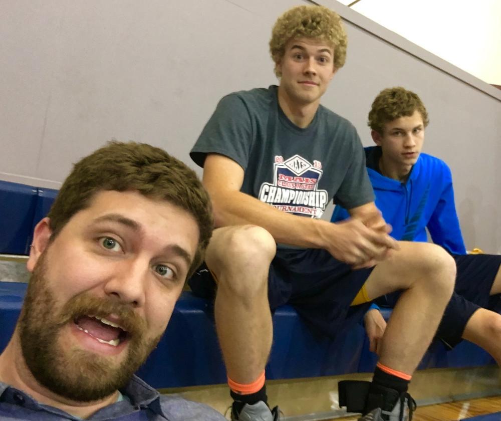 Christopher, Luke, Noah