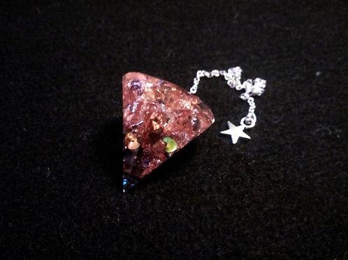 "Pendule ""Copper Black"""