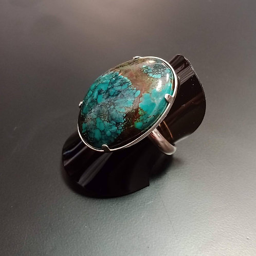 Grande bague en Turquoise
